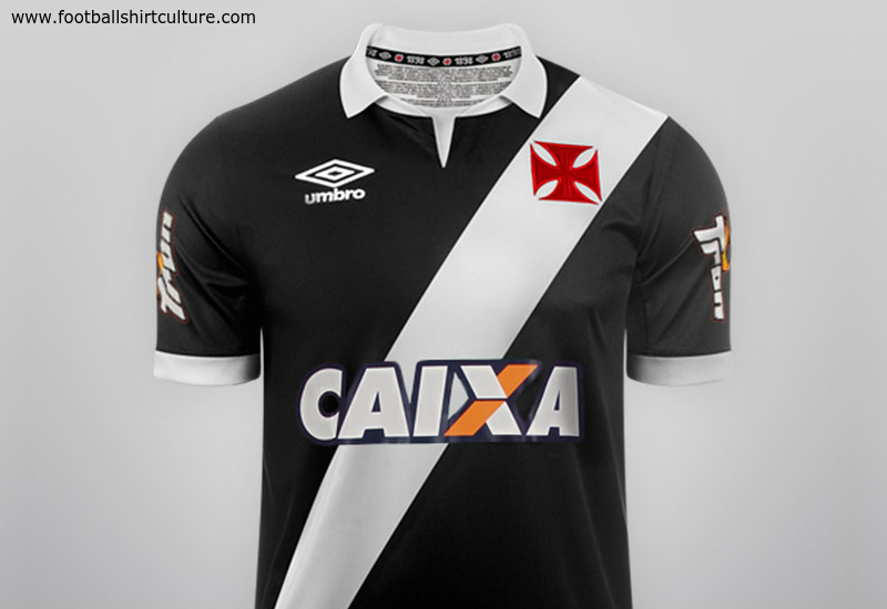 Vasco Da Gama 2014 15 Umbro Home Football Shirt