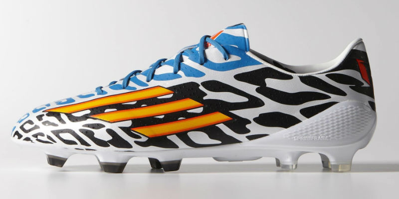 a03dcde9460 Adidas F50 adizero FG Messi Battle Pack Boots - Running White   Neon ...