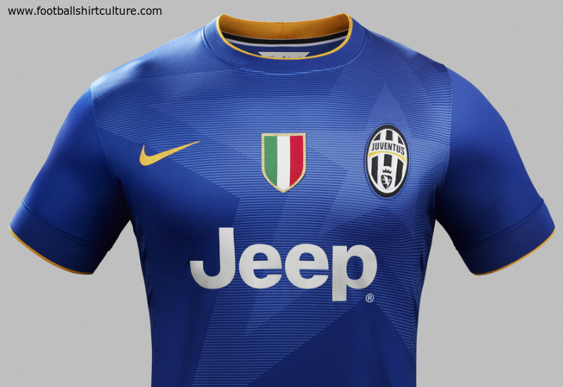 Juventus 2014 2015 Nike Away Football Shirt Kit A