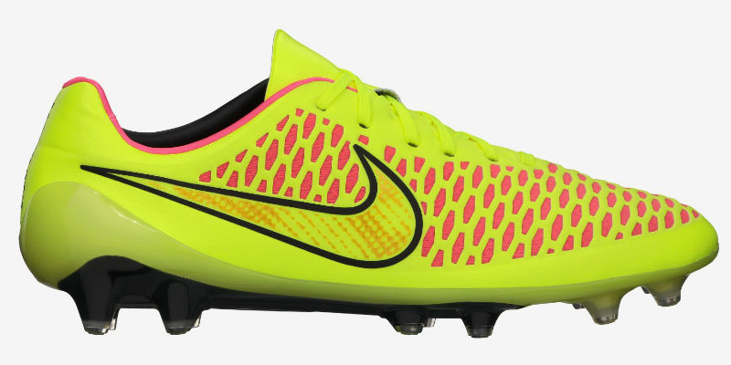 5460a3a5f5961 Nike Magista Opus FG Football Boot- Volt / Metallic Gold Coin ...