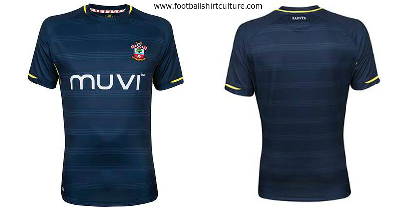 Southampton 2014 2015 Away Football Shirt Kit A