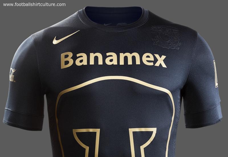 UNAM Pumas 14 15 Nike Away Football Shirt  4d87dd6e84a32