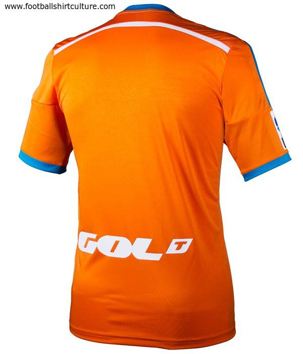 Valencia 14/15 Adidas Away Football Shirt 14/15 Kits Footbal