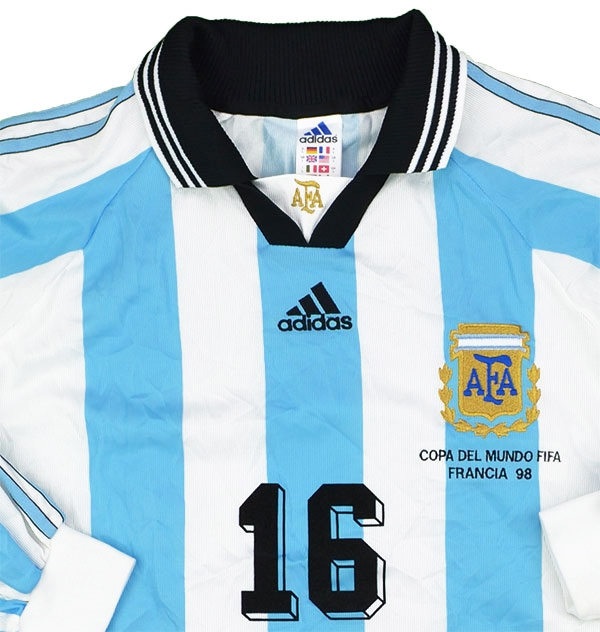 e53174a5c7b ... Click to enlarge image  adidas 1998 argentina match issue world cup home shirt kit c.jpg