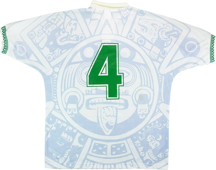 40569564ed5 Click to enlarge image aba sport 1998 mexico match worn away shirt a.jpg   Click to enlarge image aba sport 1998 mexico match worn away shirt b.jpg ...