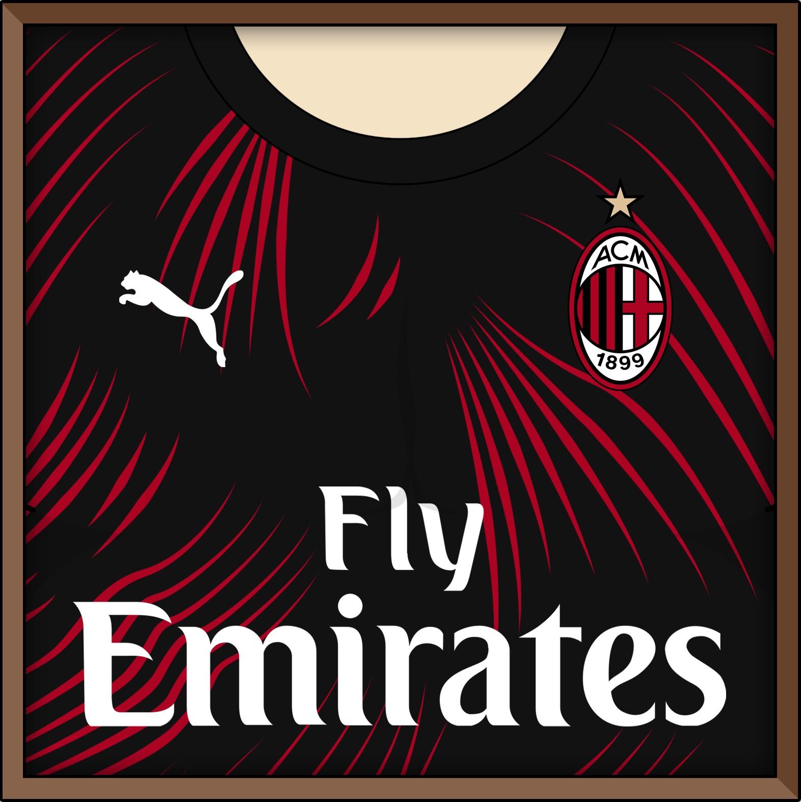 timeless design 4b39e 2997a AC Milan 2019-20 Third Kit Prediction | Kit design ...