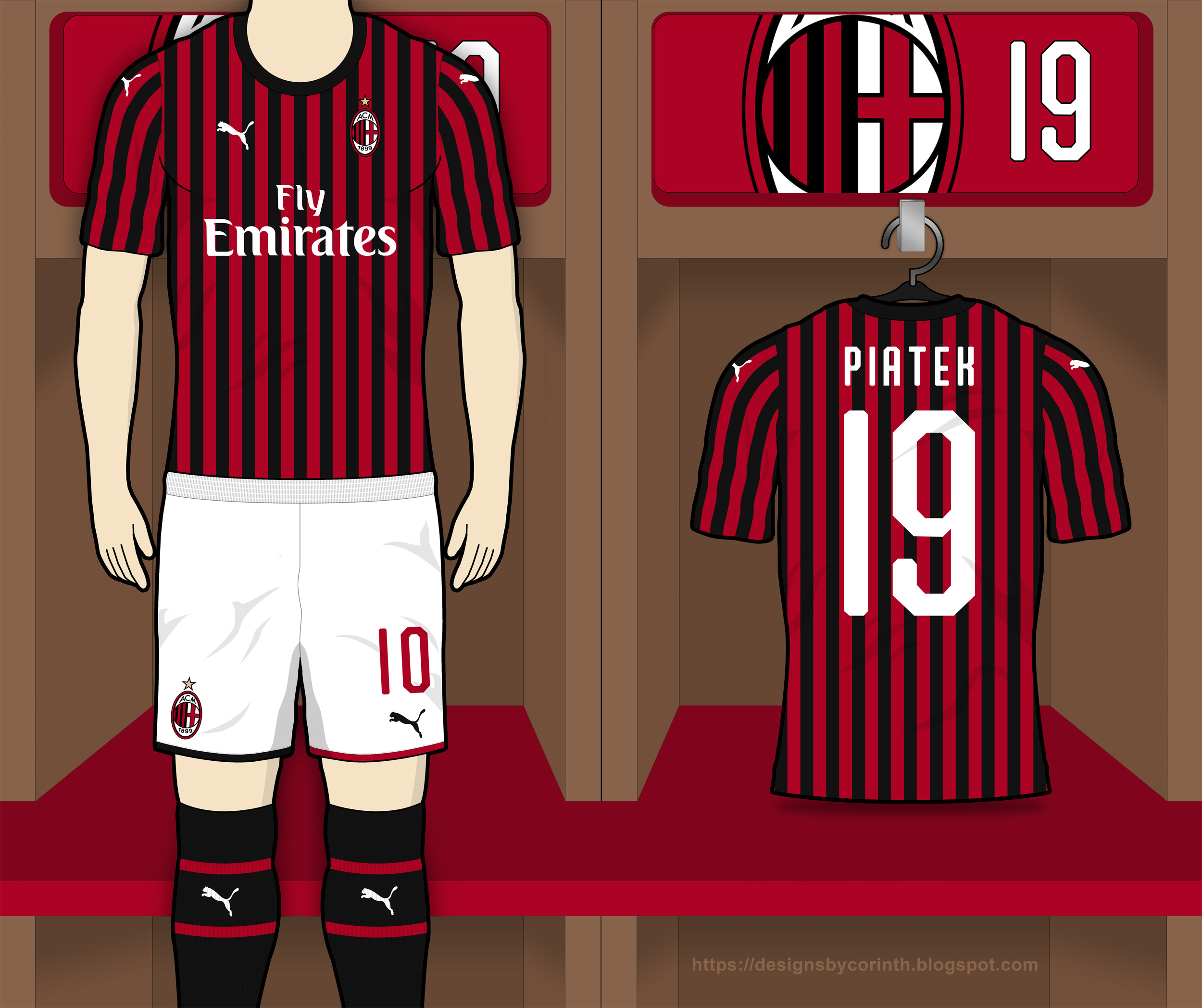 927617507 Click to enlarge image ac milan 2019 2020 home kit prediction a.jpg ...