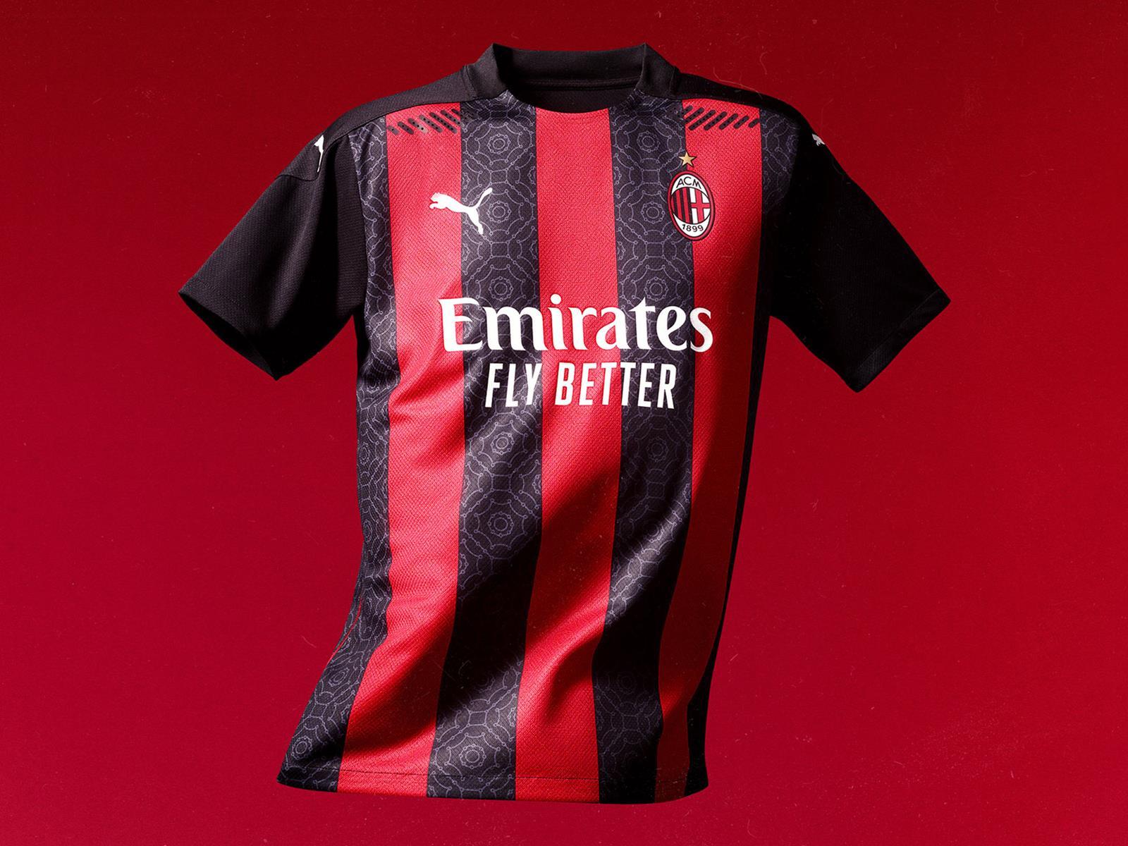 AC Milan 2020-21 Puma Home Kit | 20/21 Kits | Football shirt blog