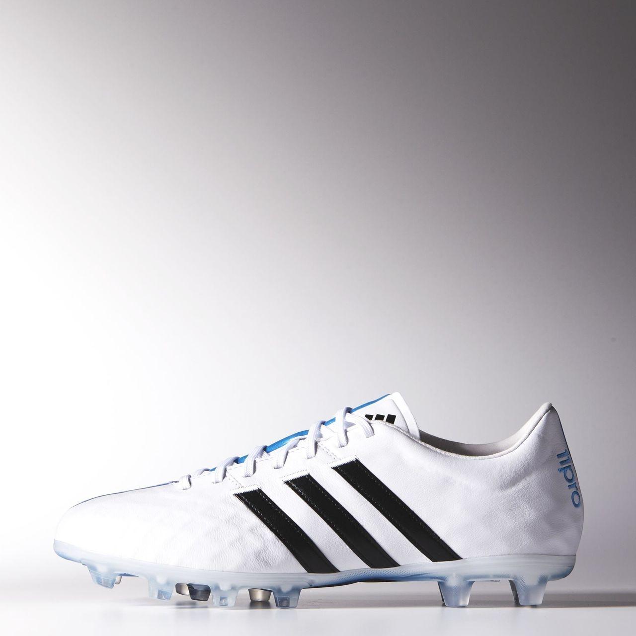 7bd98dde4d5 Adidas 11 Pro FG Boots - Ftwr White   Core Black   Solar Blue ...