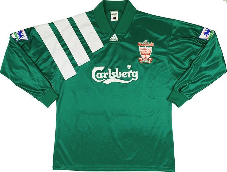 promo code d51c5 c5026 Adidas 1992-93 Liverpool Centenary Player Issue Away Shirt ...