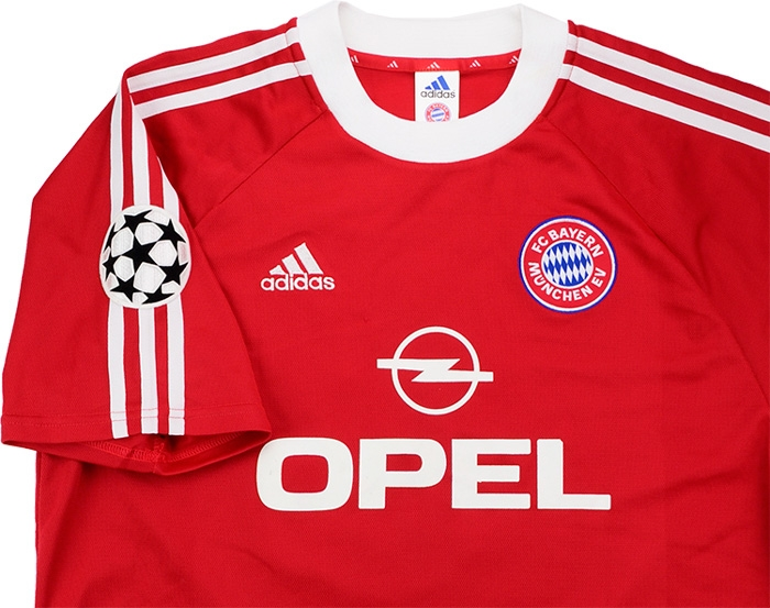 hot sales 1acd3 784d8 Adidas 2001 Bayern Munich Match Issue Champions League Final ...