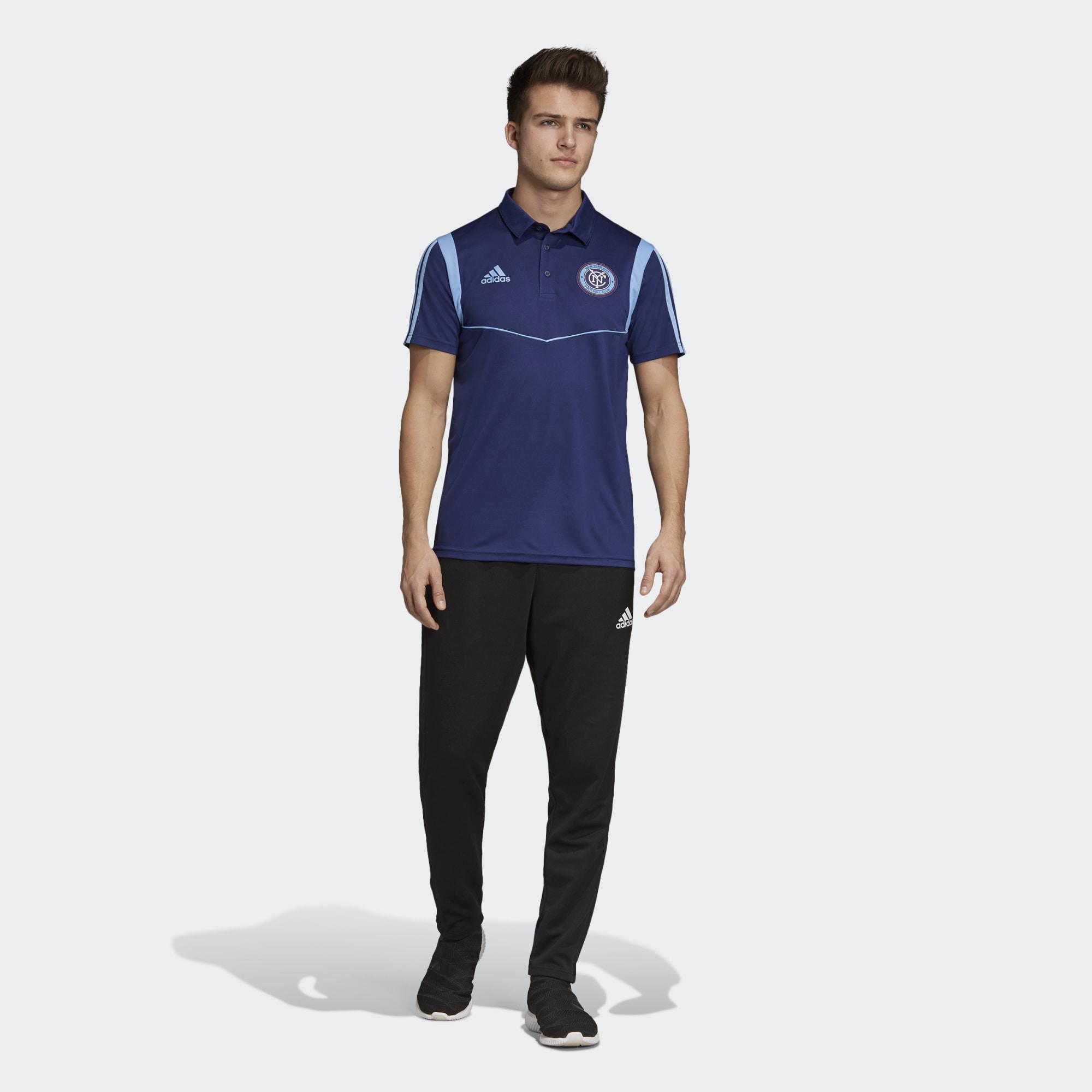 683bdde4304 ... Click to enlarge image  adidas 2019 new york city fc polo shirt night sky bahia light blue 2.jpg ...