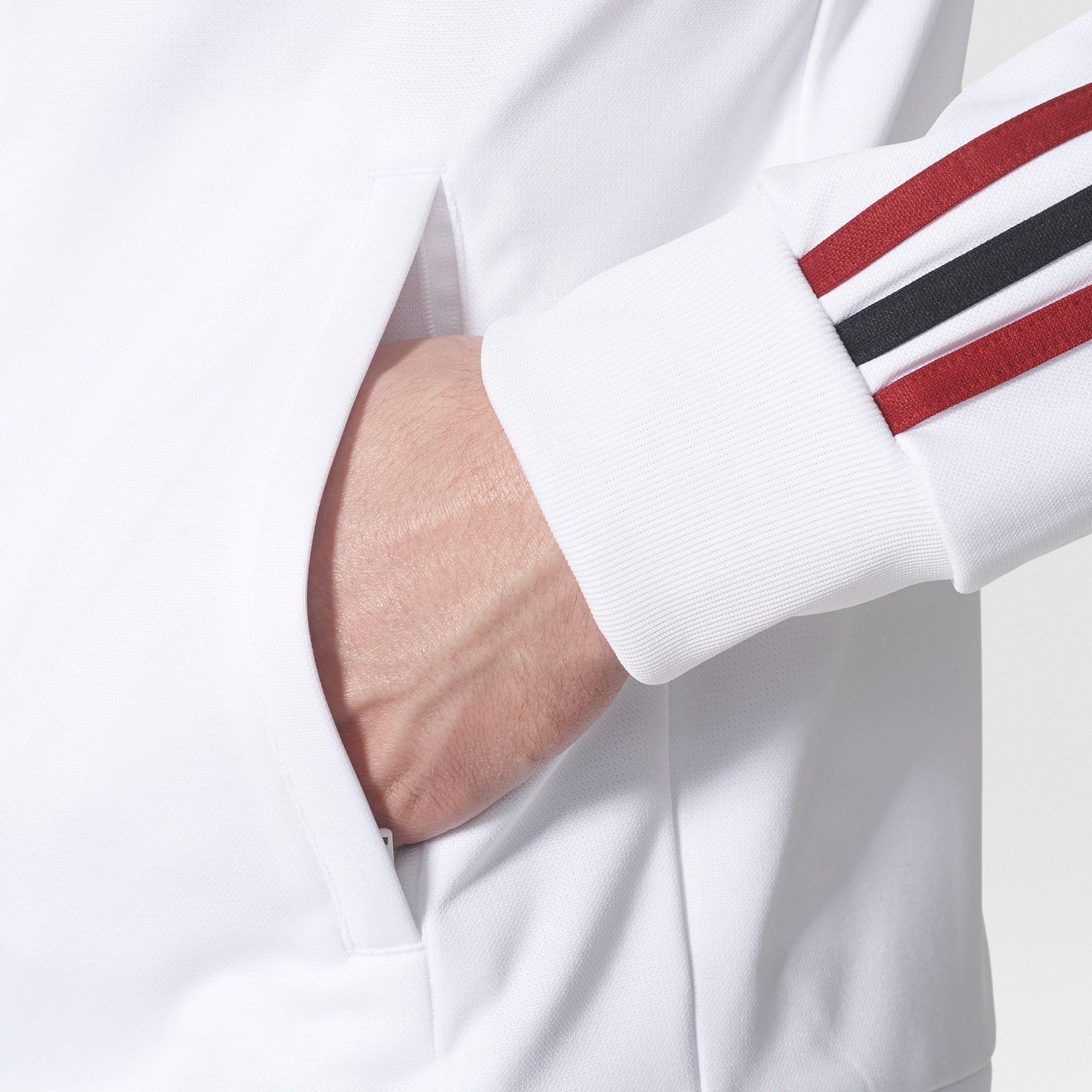 78260c3891 Adidas AC Milan 3-stripes Track Jacket - White / Black / Victory Red ...