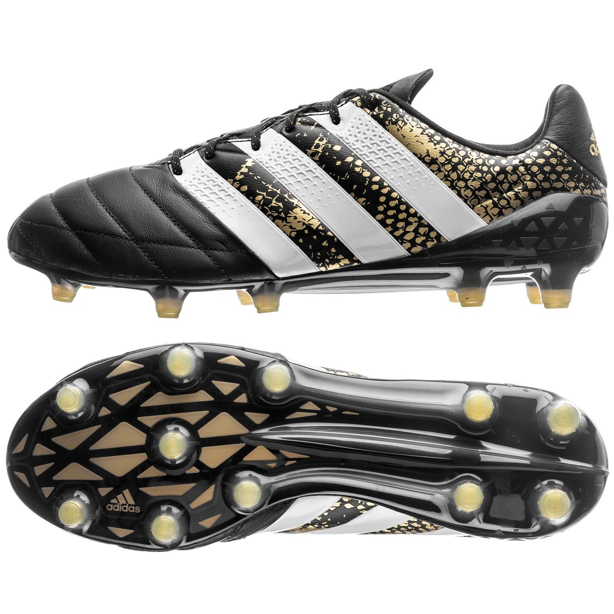 timeless design 8c58c eebe3 spain adidas ace 16 black and gold be0c6 0b780