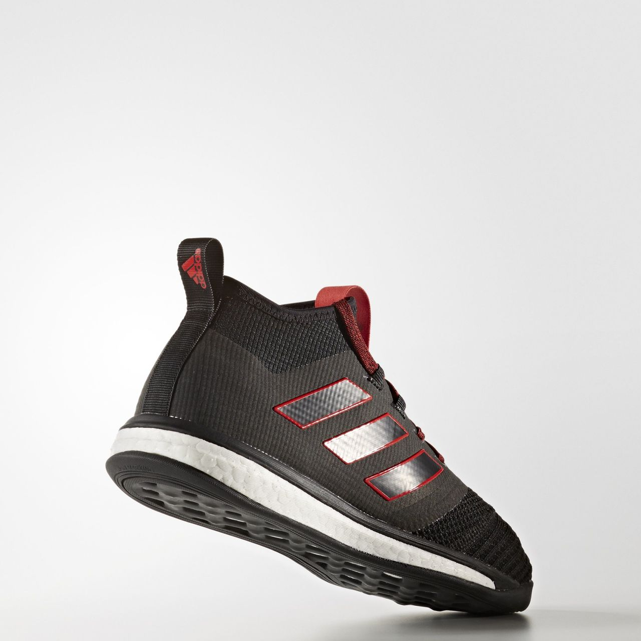 adidas ace tango 17 1 trainers core black red. Black Bedroom Furniture Sets. Home Design Ideas