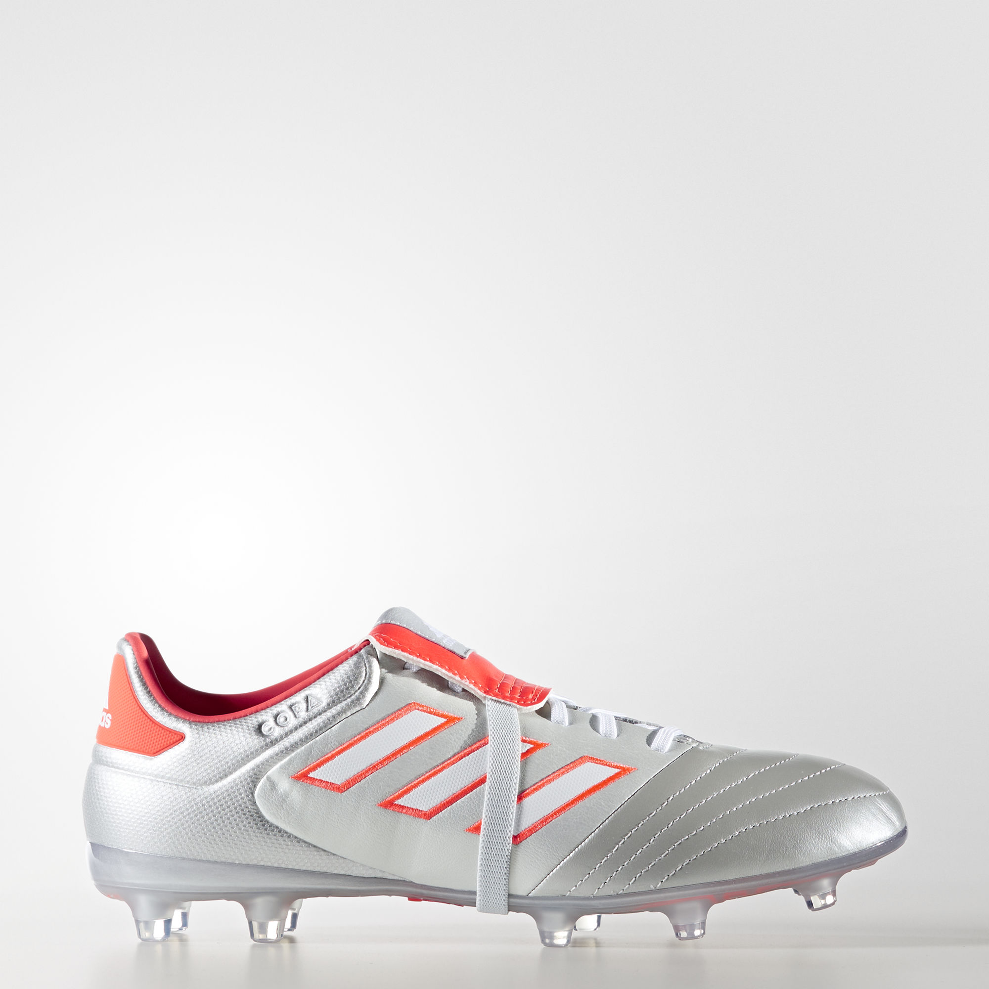 official photos 01a21 e56f8 Adidas Copa Gloro 17.2 FG - Silver Metalic   Footwear White   Solar Red