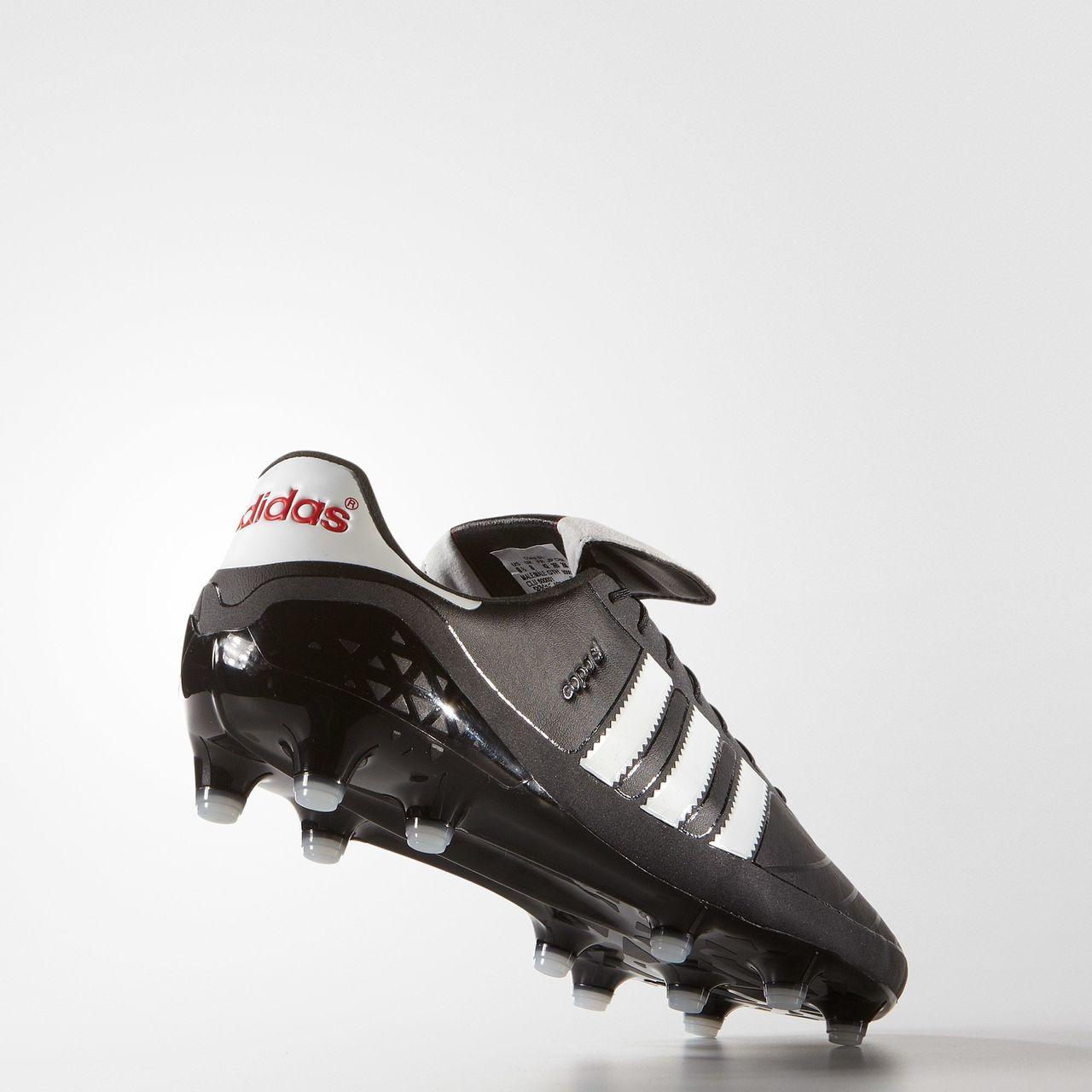 Adidas copa sl terra ferma stivali nero / bianco / rosso vivo nucleo