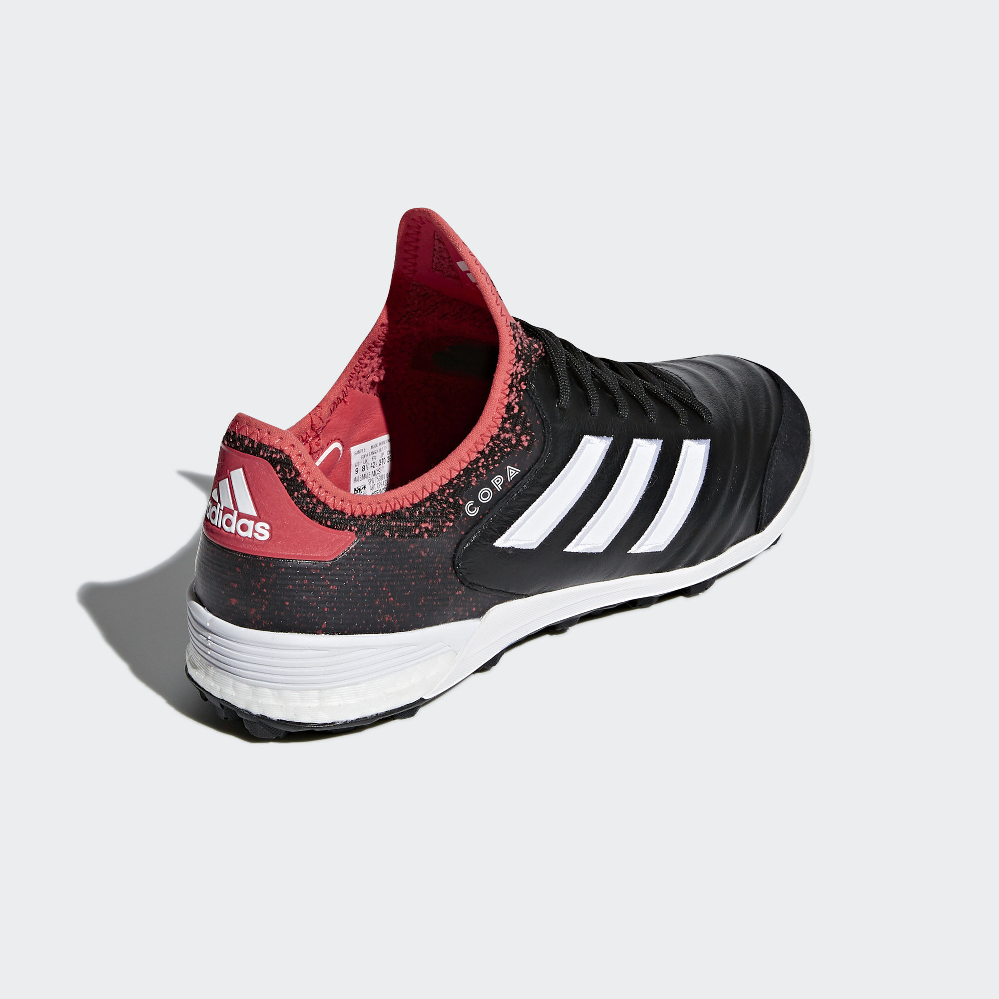 Click to enlarge image  adidas copa tango 18 1 turf boots core black ftwr white real coral a.jpg   Click to enlarge image ... 607922862