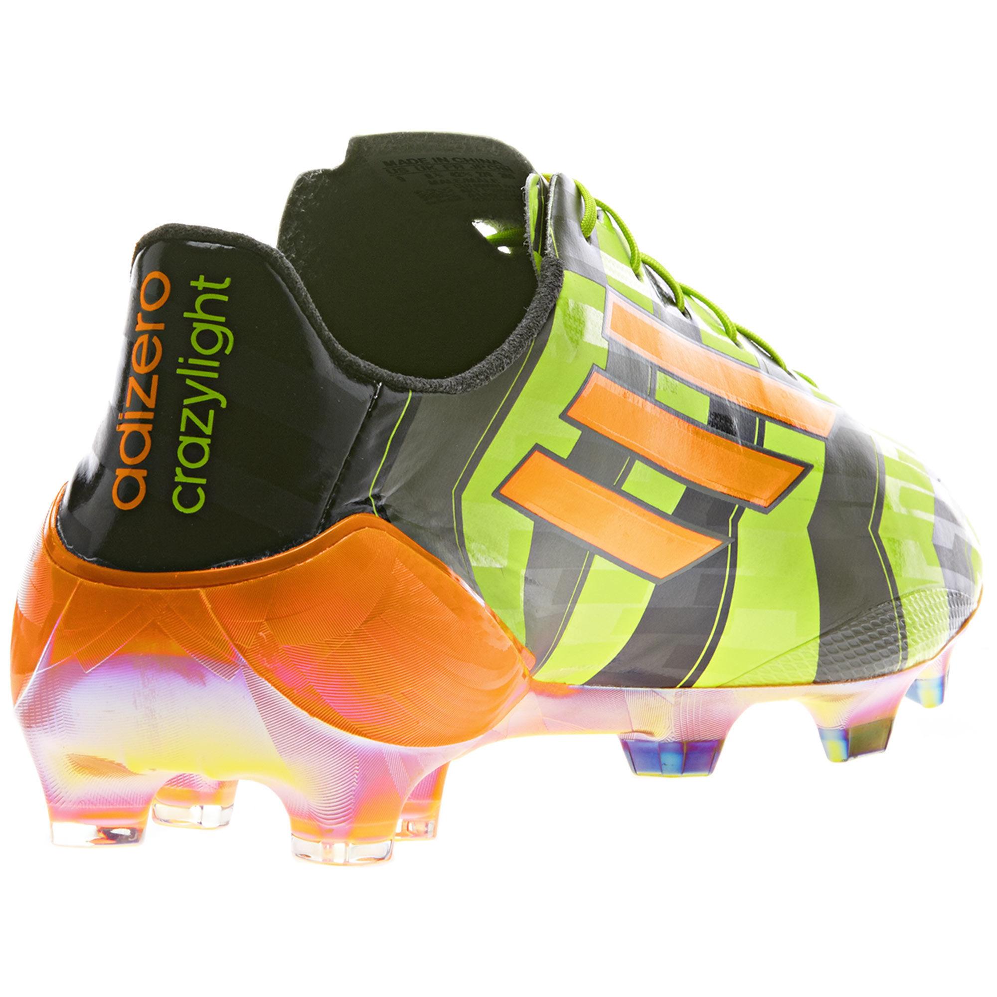 Adidas F50 Adizero Crazylight Trx Fg Boots Solar Slime
