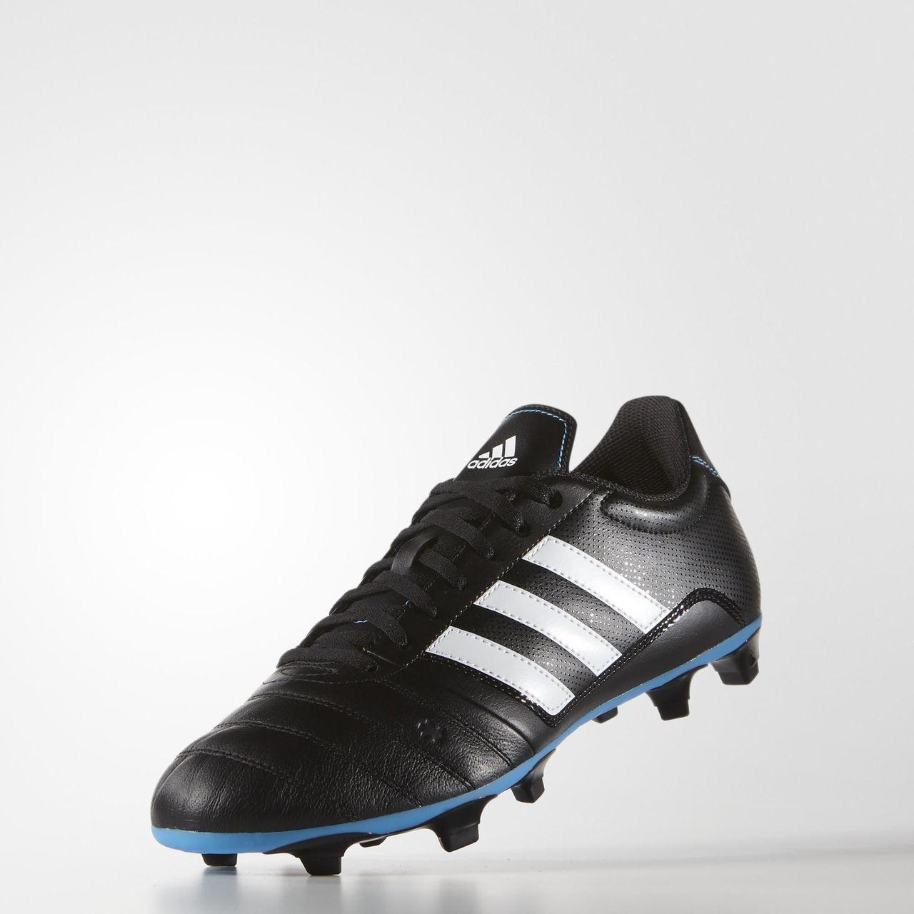 Adidas gloro FG botas de fútbol negro / blanco / Solar Azul