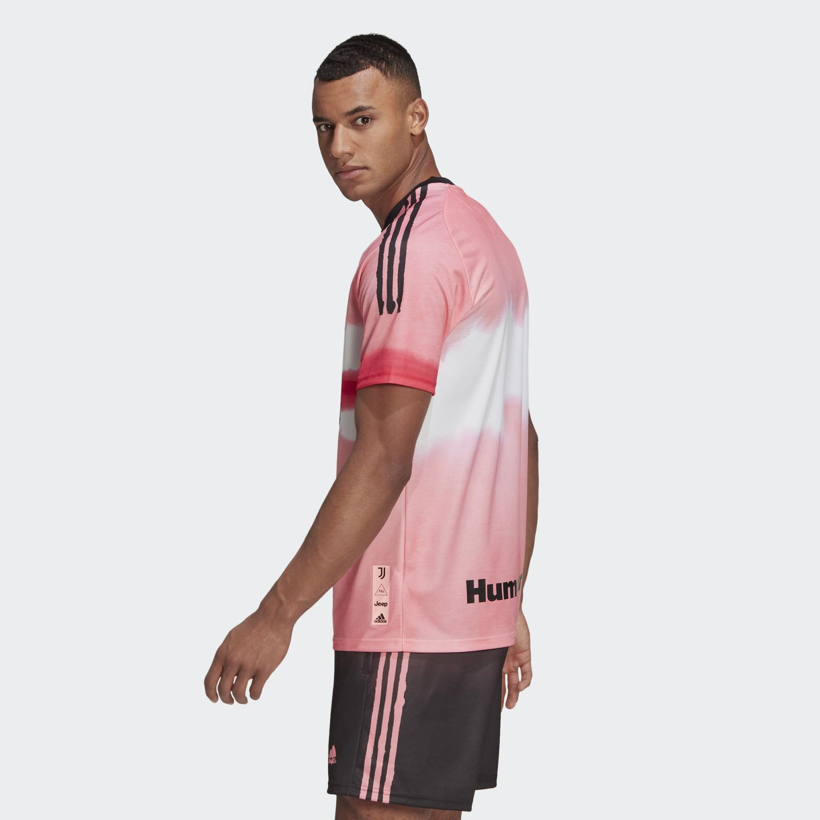 11+ Juventus Pink Jersey Human Race