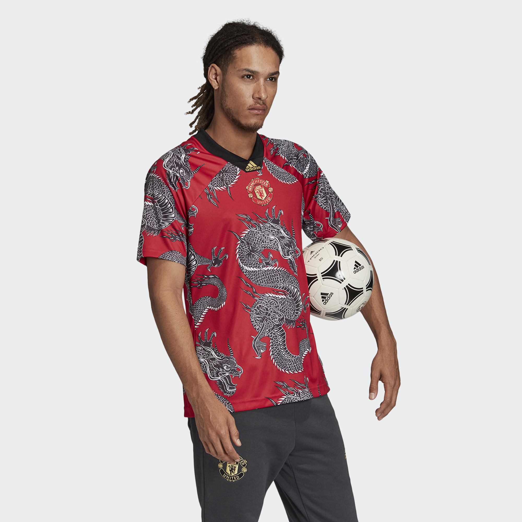 Adidas Manchester United CNY Jersey - Real Red | 19/20 Kits ...