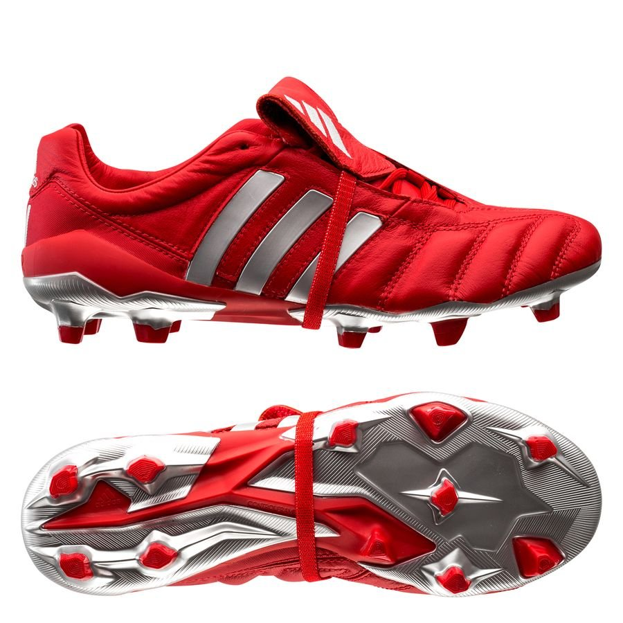 outlet on sale more photos check out Adidas Predator Mania OG FG - Red / Metallic Silver ...