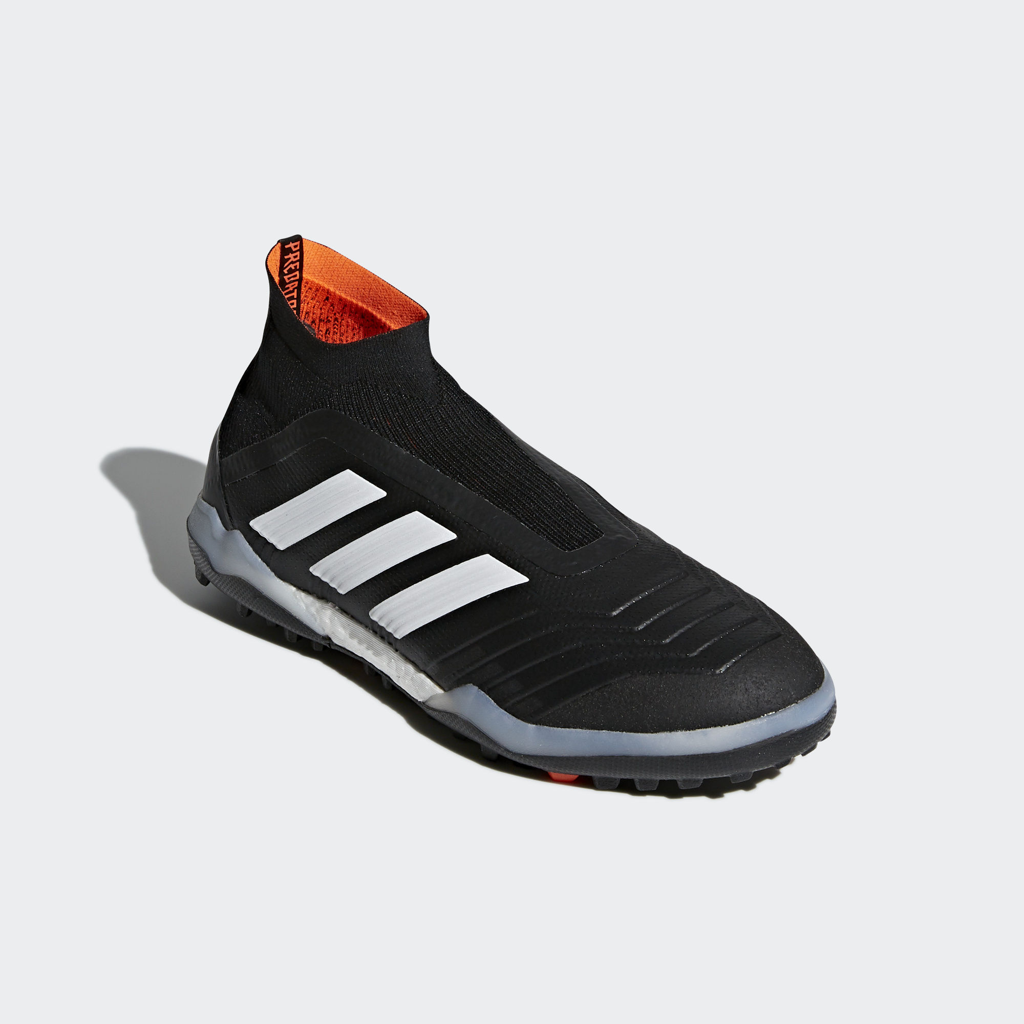 75d7d5bc9 classic fit 2ed7d 6128b Nice Adidas Predator Tango 18.4 TF Football  Trainers Core Black White Solar Red  best website ad48c e5074 ... Click to  enlarge image ...