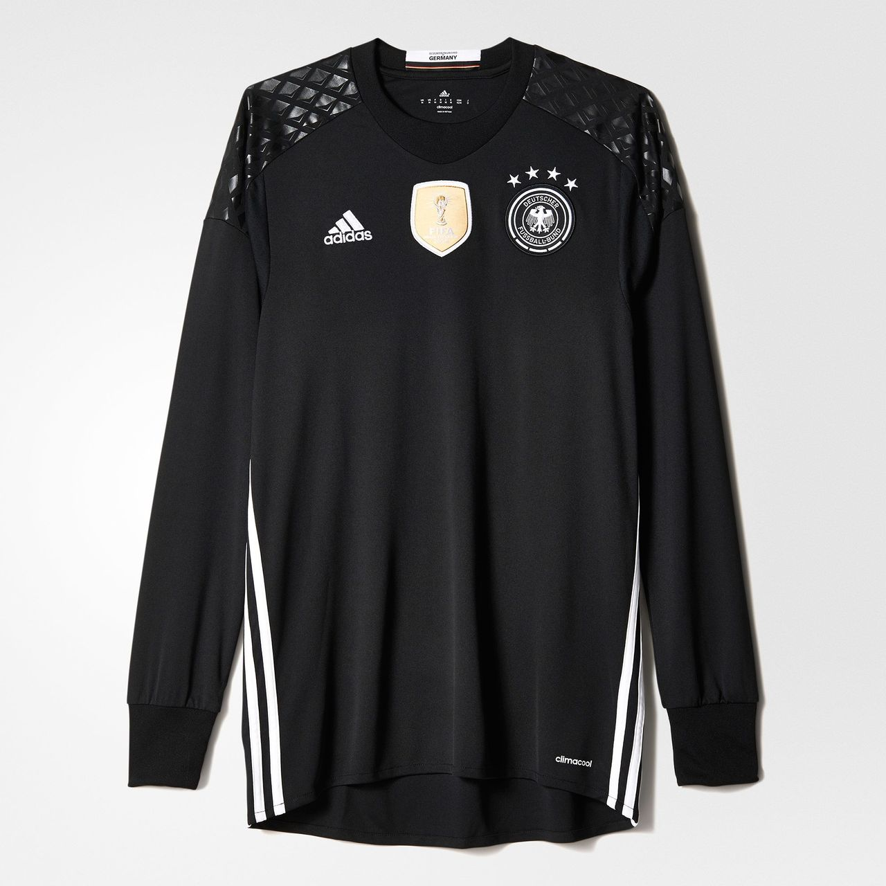 new style ddc01 0195d Adidas UEFA EURO 2016 Germany Home Replica Goalkeeper Jersey ...