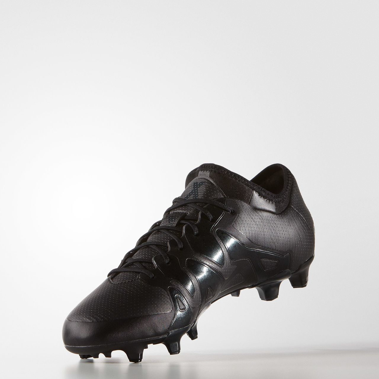 84325830271 promo code for hot sales adidas x 15.1 fluid black firm ground boots core black  black