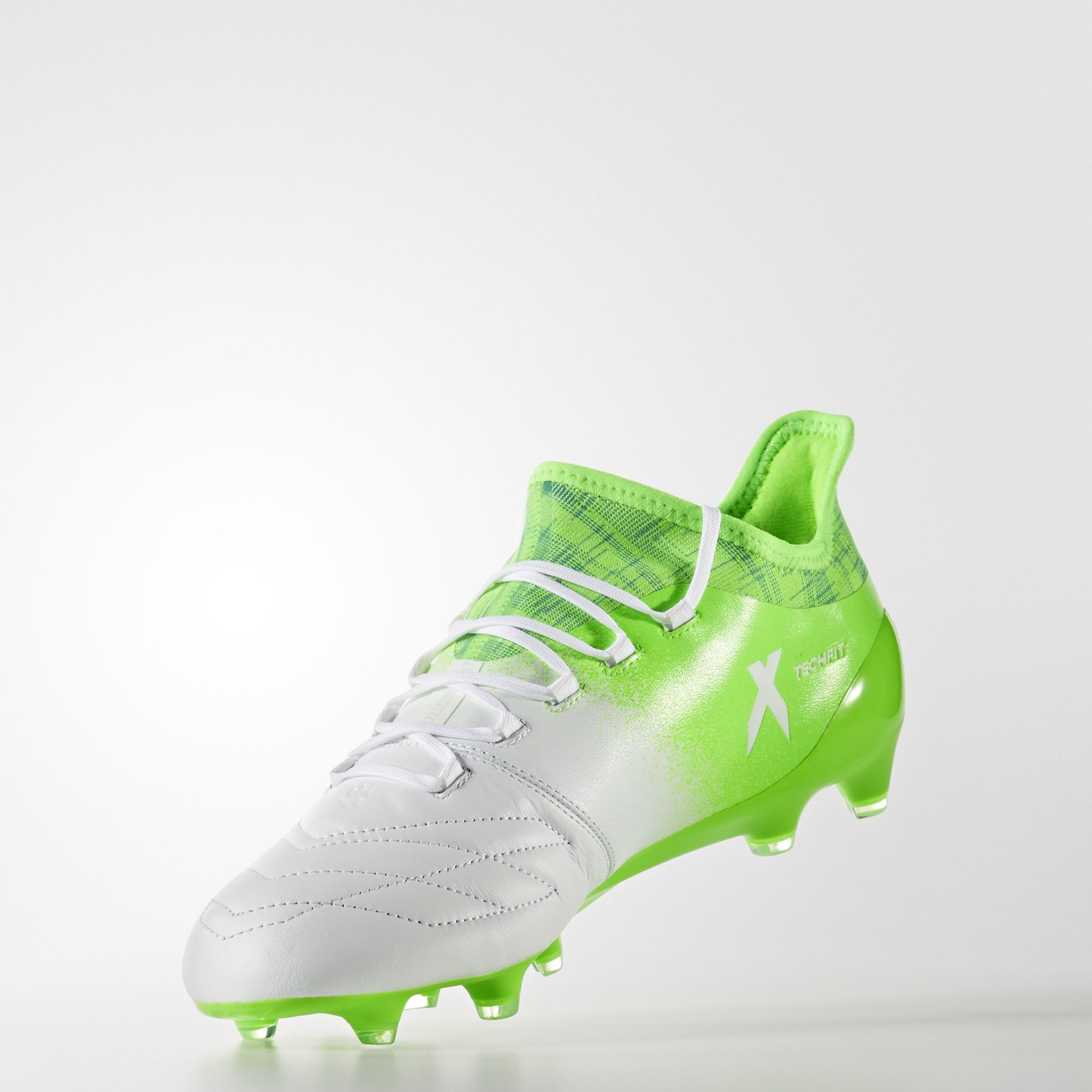 Adidas X 16.1 Leather Turbocharge Firm Ground Boots