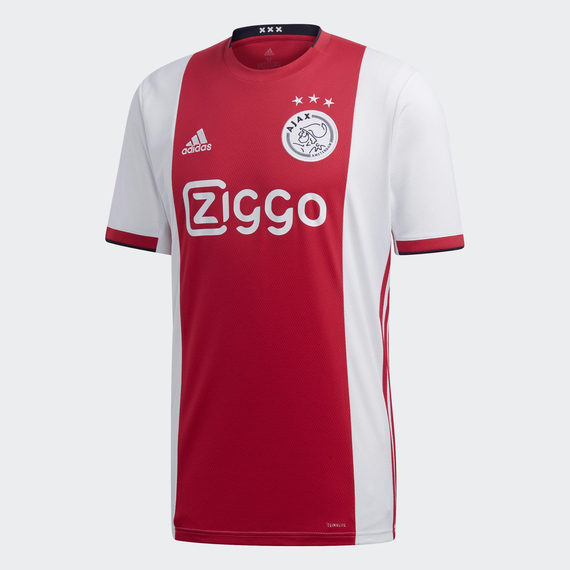 Ajax 2019-20 Adidas Home Kit | 19/20 Kits | Football shirt ...