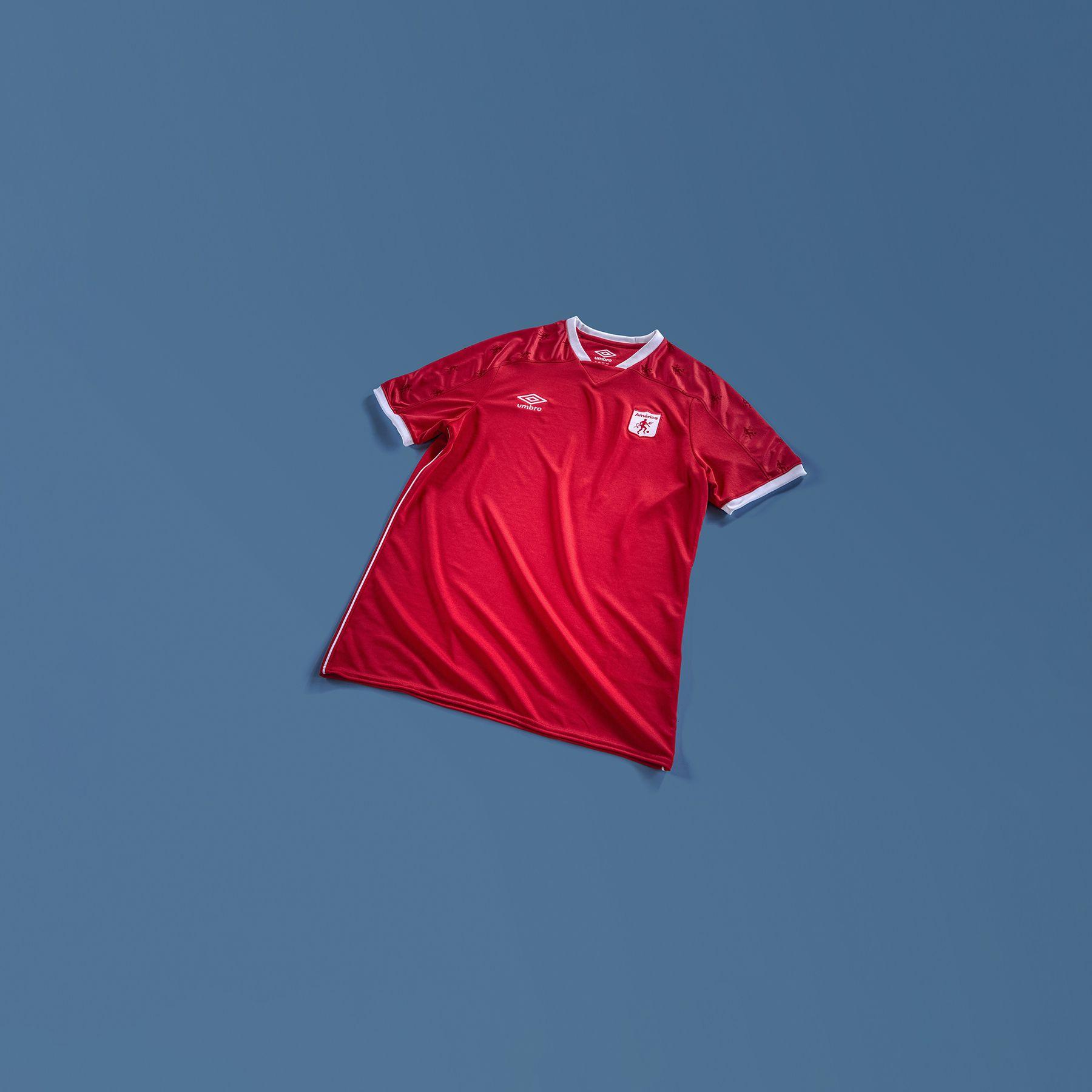 América de Cali 2021-22 Umbro Home and Away Shirts   20/21 Kits ...