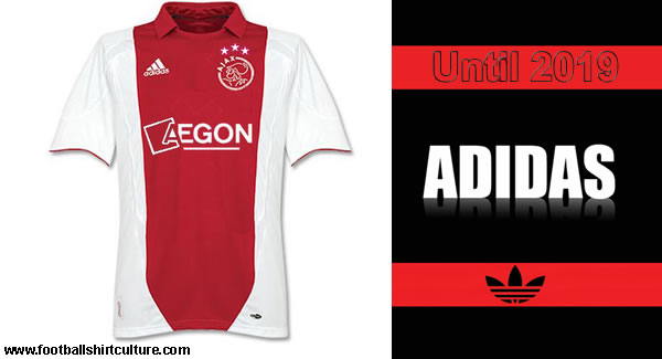 Ajax and adidas extend sponsor contract.