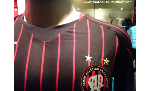 Atletico Paranaense 08/09 3rd shirt made by Umbro