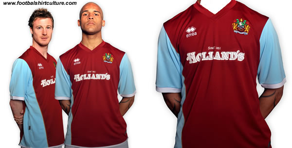 Burnley Football Club are proud to unveil the new home shirt to be worn for the 2008/09 season.