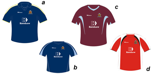Blue or Claret or Red? Cambridge United Football Club and Vandanel Retail Ltd would like to offer Cambridge United supporters the opportunity to be part of the process of selecting a new away strip by voting