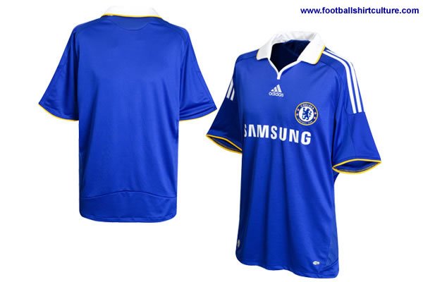Chelsea FC have unveiled their new 08-09 home football kit made by Adidas.