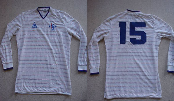 brand new 2e2da 703cd Ebay : Chelsea 84/86 LCS match worn away shirt | Vintage ...