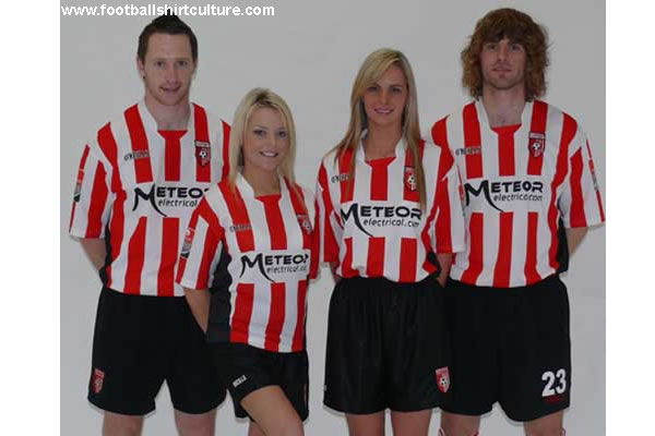 The 08/09 home kit was unveiled a while ago.