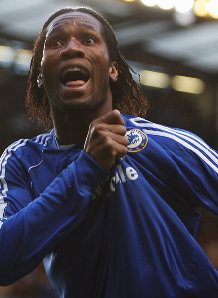 Chelsea player Didier Drogba has been buying dozens of his own football shirts to increase the club shop's sales and persuade team-mates of his popularity with fans.