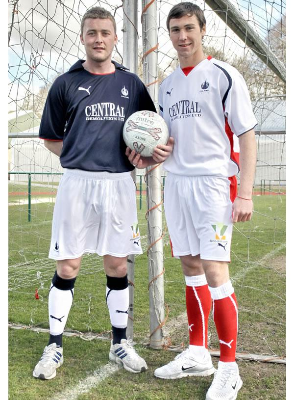 Falkirk Football Club are pleased to reveal their new home and away strips for the 08/09 season