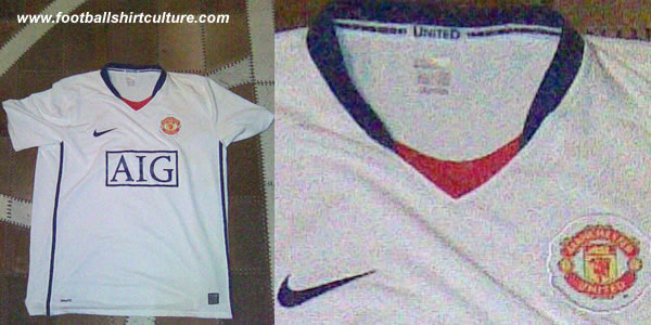 Could this be the new Manchester United 08/09 away shirt made by nike?