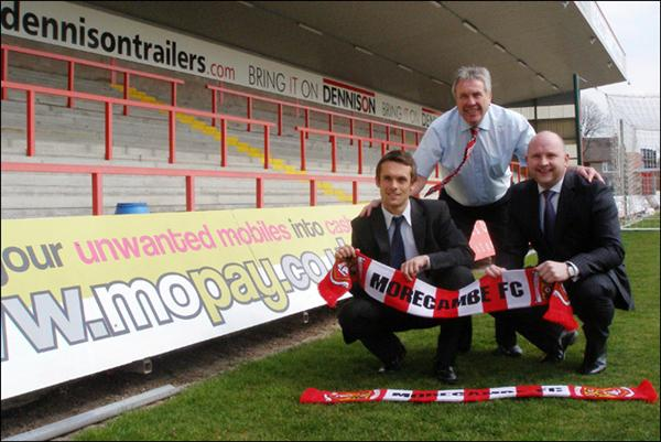 MORECAMBE Football Club have announced new shirt sponsors for the 2008/09 season.
