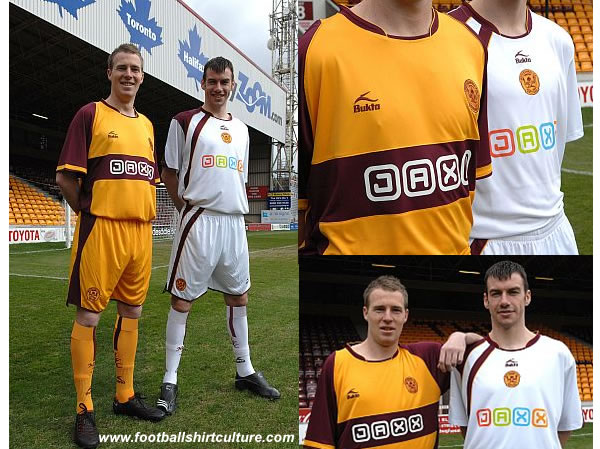 The club, in partnership with Provan Sports, will launch the home kit on Tuesday, July 3rd 2008 with the Away strip pencilled in for the Open Day at the end of July.