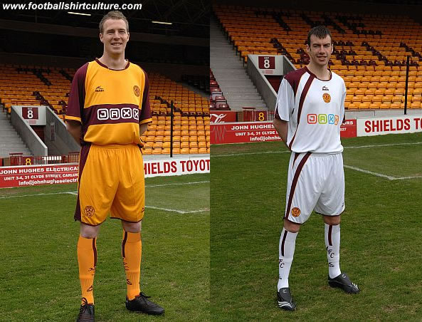 New Motherwell 2008 - 2010 Bukta kits launched