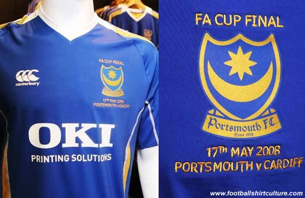 There are a limited number of commemorative fA Cup Final replica which supporters can buy at the pompey store.