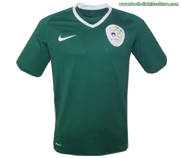Slovenia 08/09 nike away football shirt