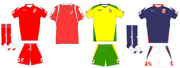 Swindon Town Football Club fans can now vote for their choice of home and away kits for next season