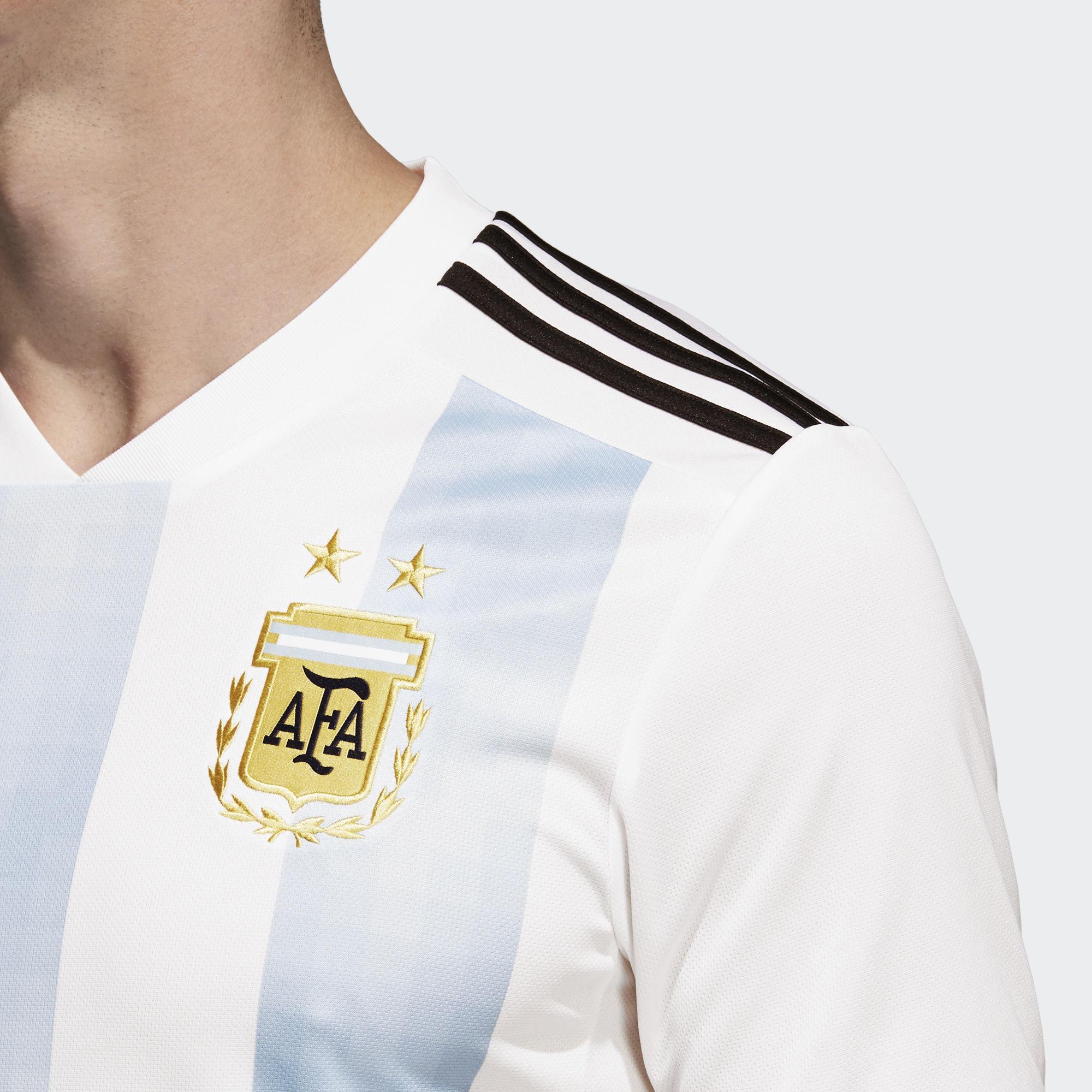 Argentina 2018 World Cup Adidas Home Kit | 17/18 Kits | Football